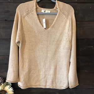 Retrod Knitted Sweater Irish Cream Medium